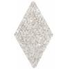 Swarovski Crystal Rock Diamond 25x31.7mm Silvershade Crystal